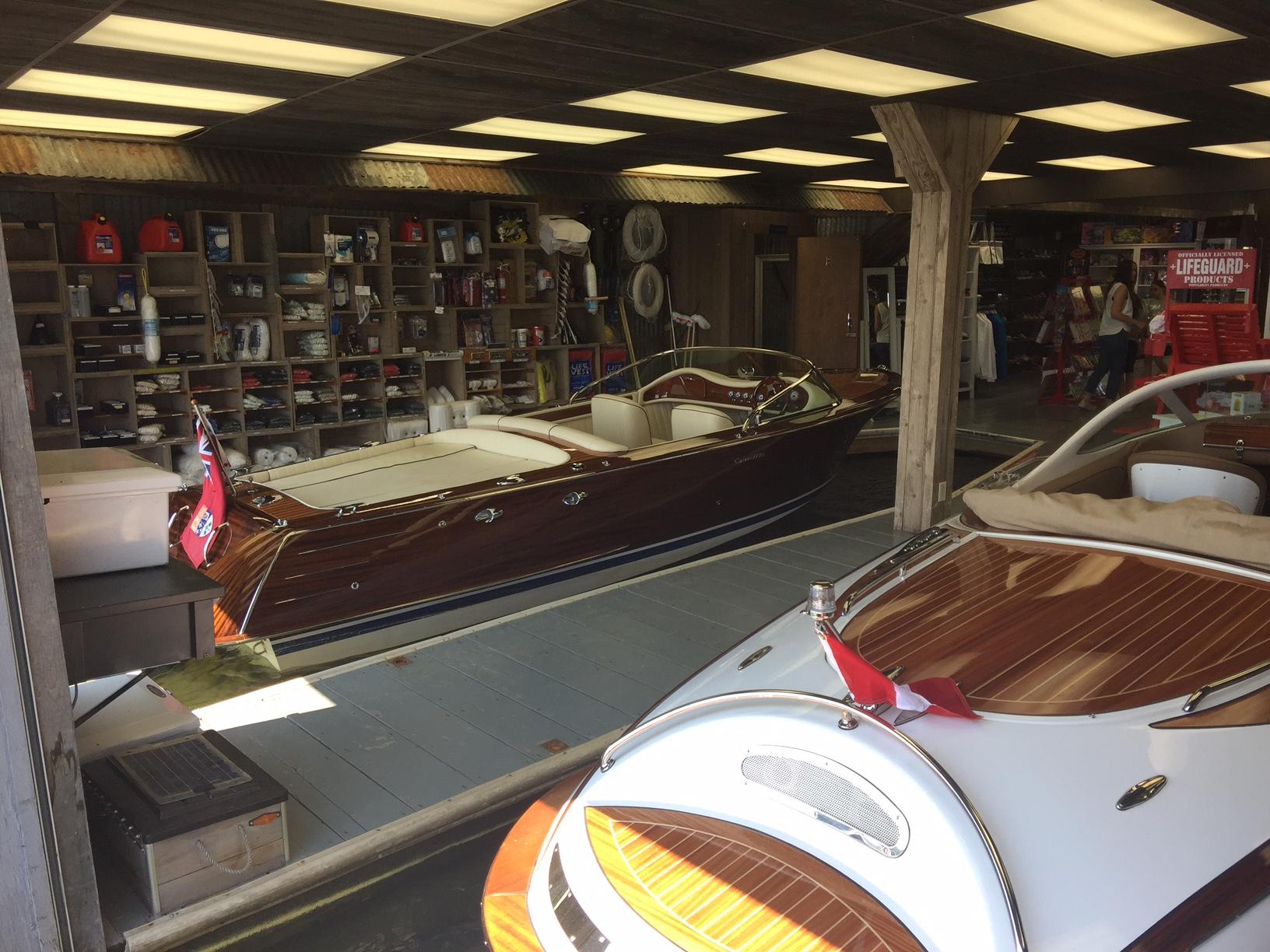 Port Sandfield Boat Store